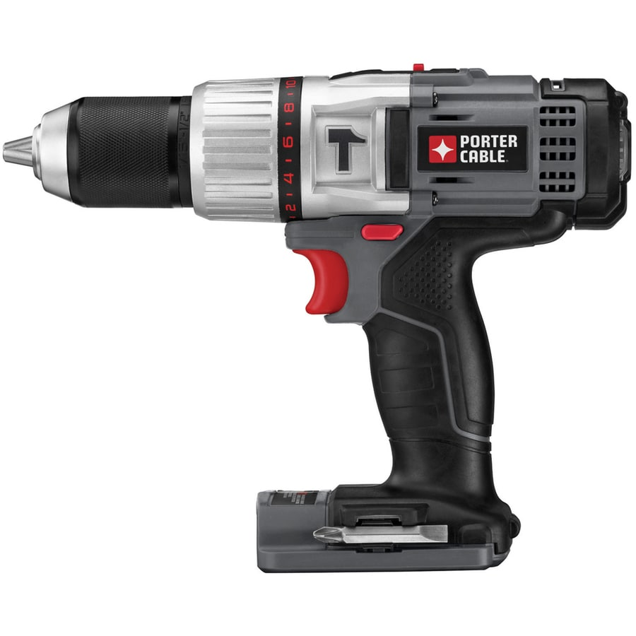 PORTER-CABLE 1/2-in 18-Volt Lithium Ion (Li-ion) Variable Speed Cordless Hammer Drill (Bare Tool)