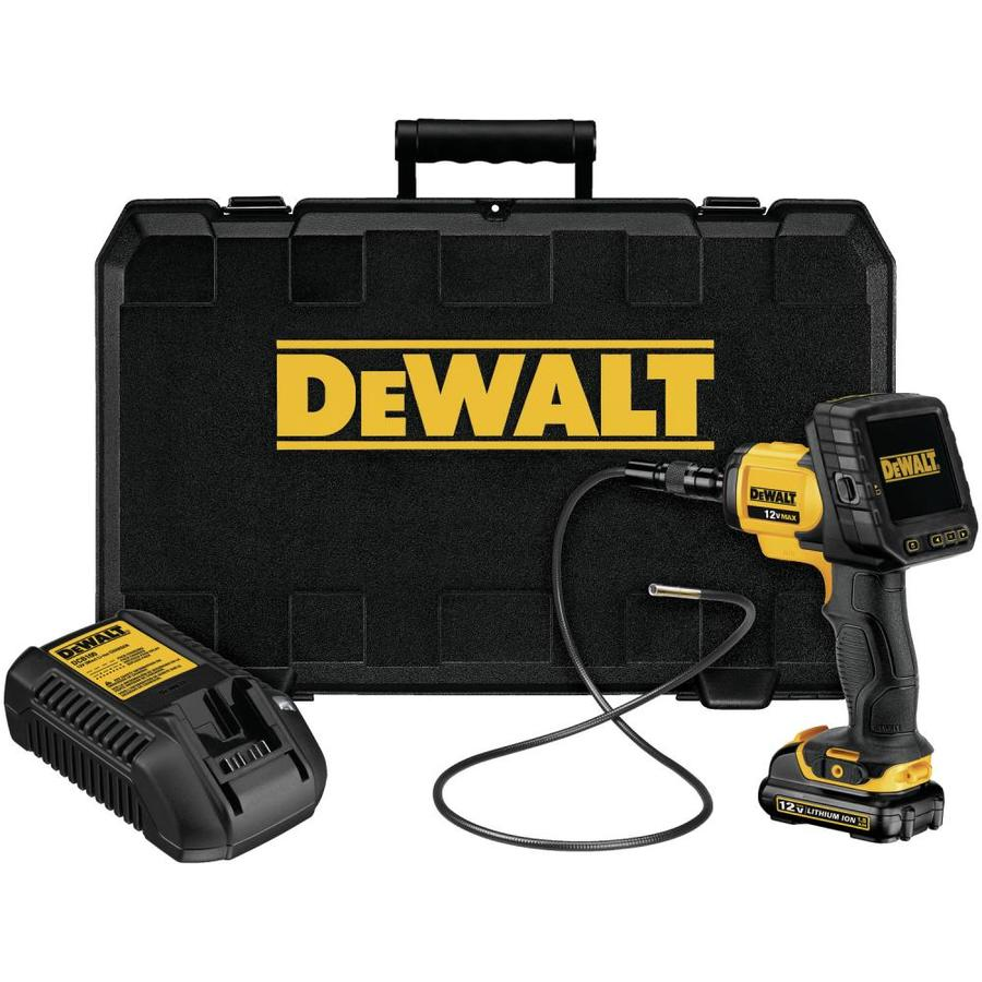 DEWALT Digital 120-Volt Video Inspection Camera Meter