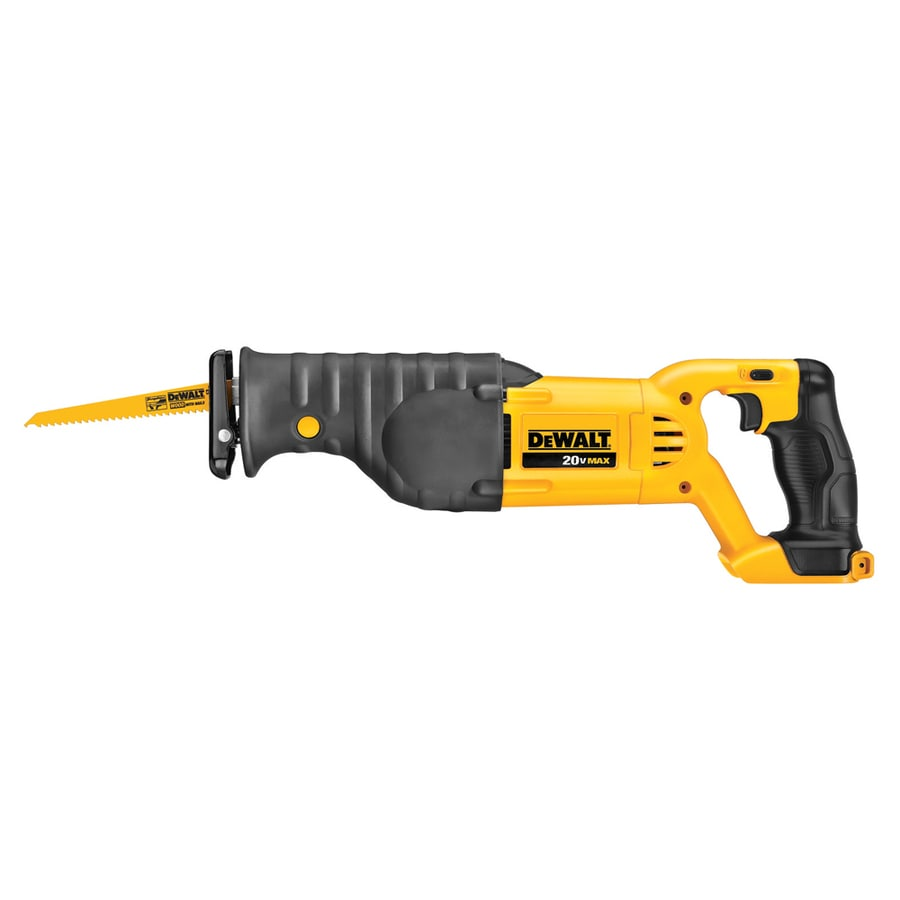 DEWALT 20-Volt Max-Volt Variable Speed Cordless Reciprocating Saw (Bare Tool)