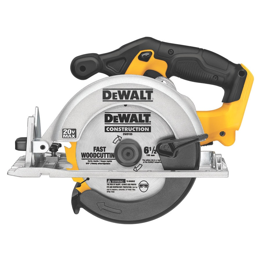 Shop circular saws at lowes dewalt 20 volt max 6 12 in cordless circular saw with keyboard keysfo Image collections