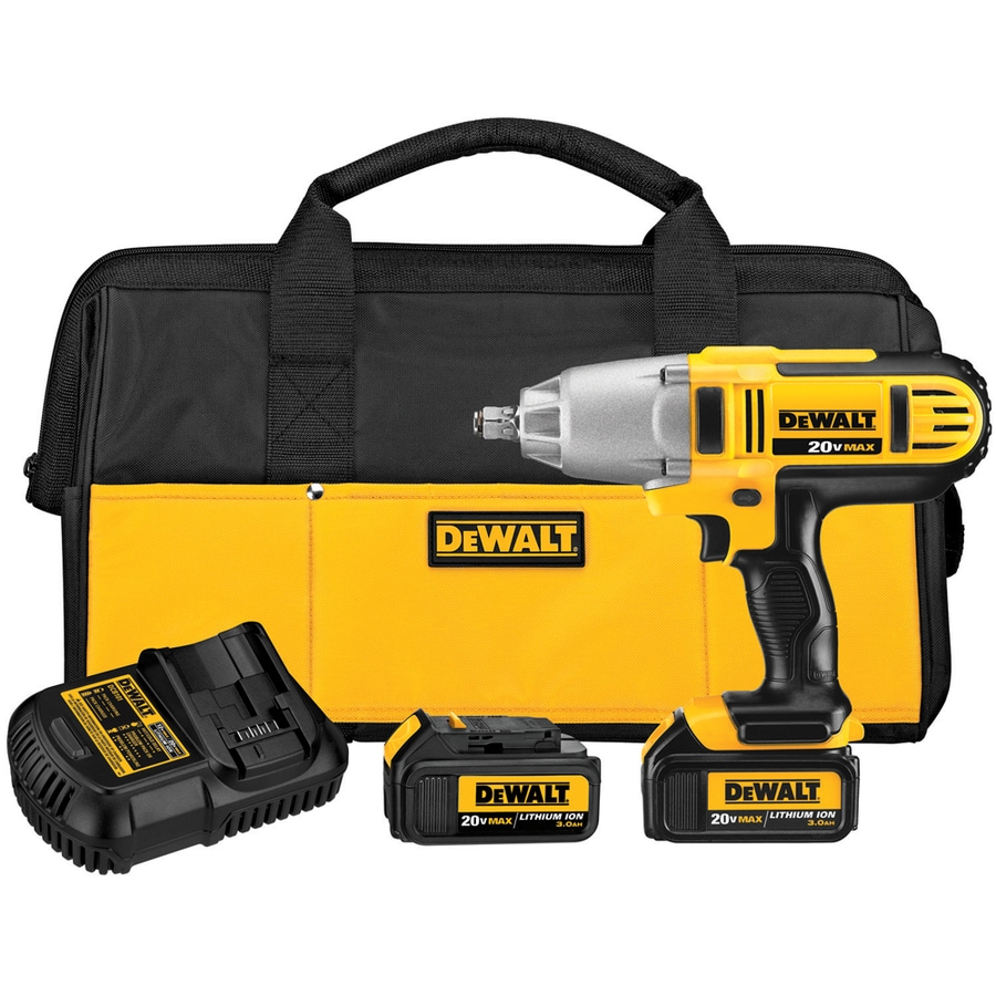DEWALT 20-Volt 1/2-in Drive Cordless Impact Wrench