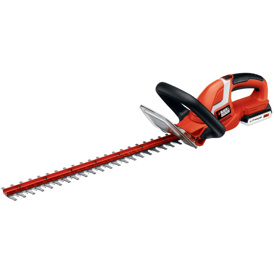 BLACK & DECKER 20-Volt Max 22-in Dual Cordless Hedge Trimmer (Battery Included)