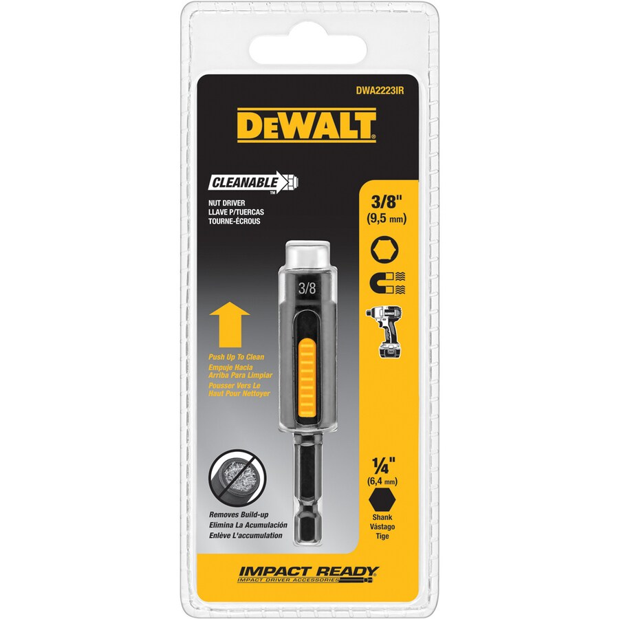 DEWALT 3/8-in x 2-15/16-in Metric and SAE Hex Nut Driver