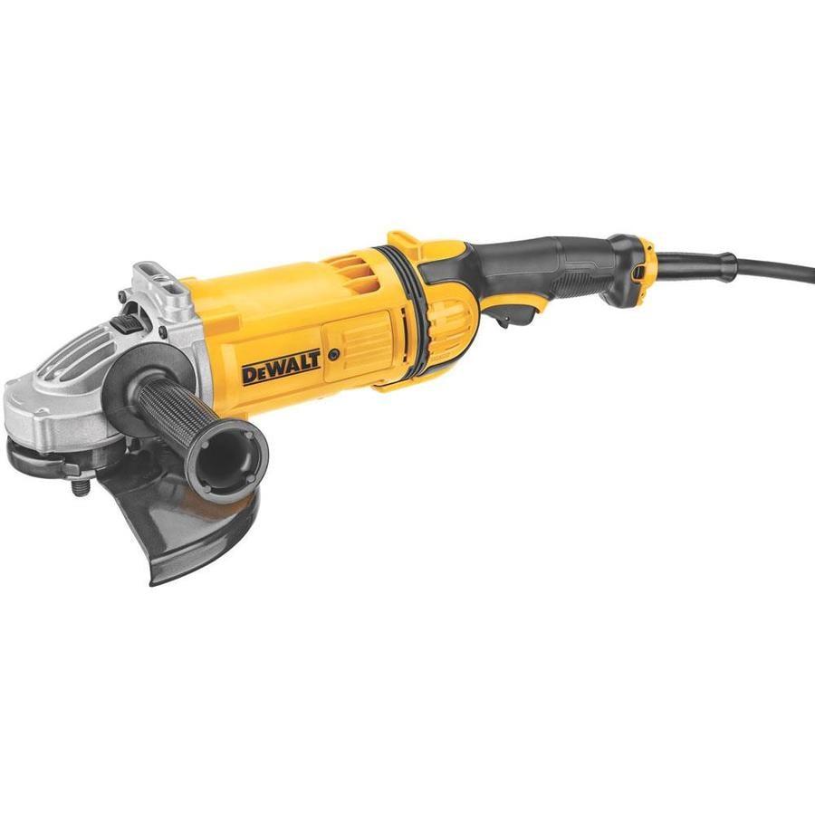 DEWALT 9-in 15-Amp Trigger Switch Corded Angle Grinder