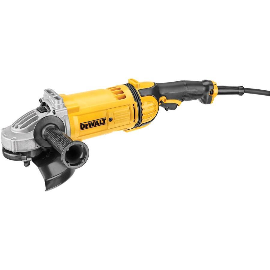 DEWALT 7-in 15-Amp Trigger Switch Corded Angle Grinder