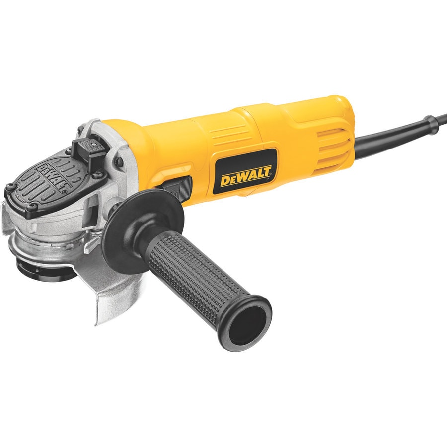 DEWALT 4-1/2-in 7 -Amp Sliding Switch Corded Angle Grinder