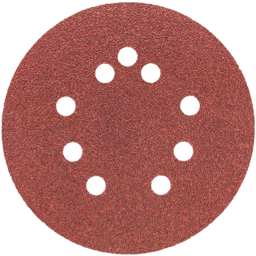 DEWALT 4-Pack 5-in W x 5-in L 80-Grit Commercial Disc Sandpaper