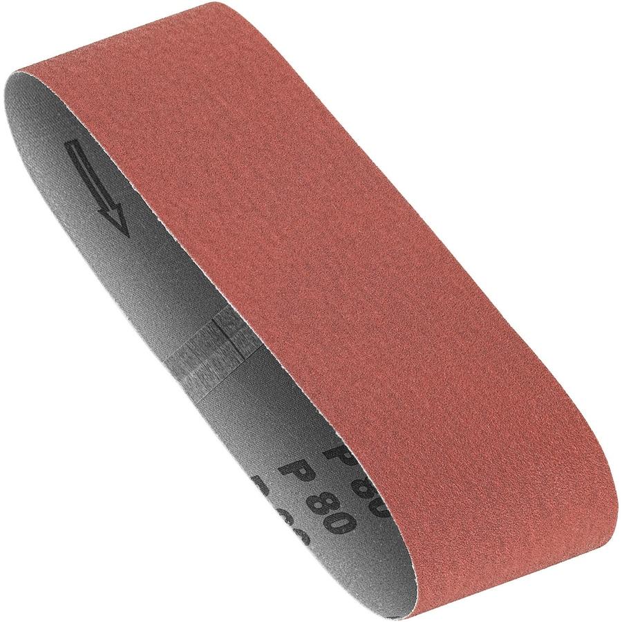 DEWALT 2-Pack 3-in W x 18-in L 80-Grit Commercial Sanding Belt Sandpaper