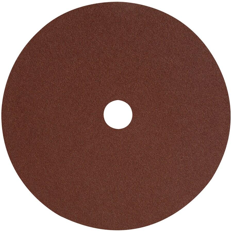 DEWALT 4-Pack 4.5-in W x 4.5-in L 50-Grit Commercial Fiber Resin Disc Sandpaper
