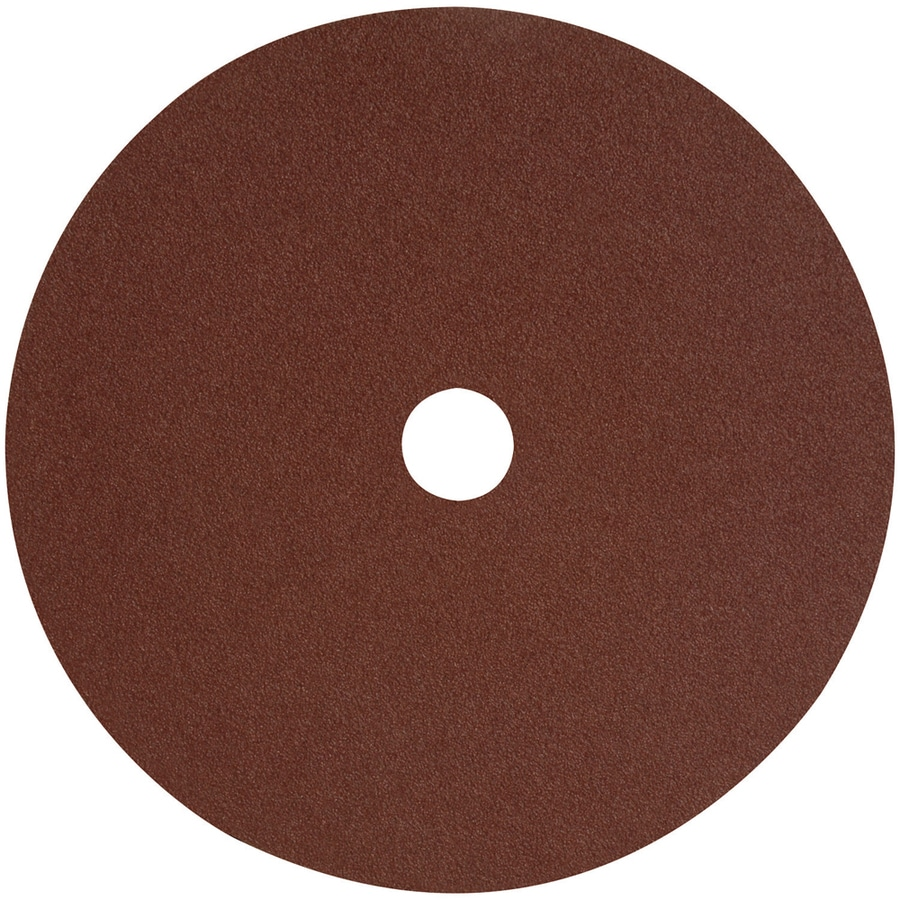 DEWALT 3-Pack 7-in W x 7-in L 50-Grit Commercial Fiber Resin Disc Sandpaper