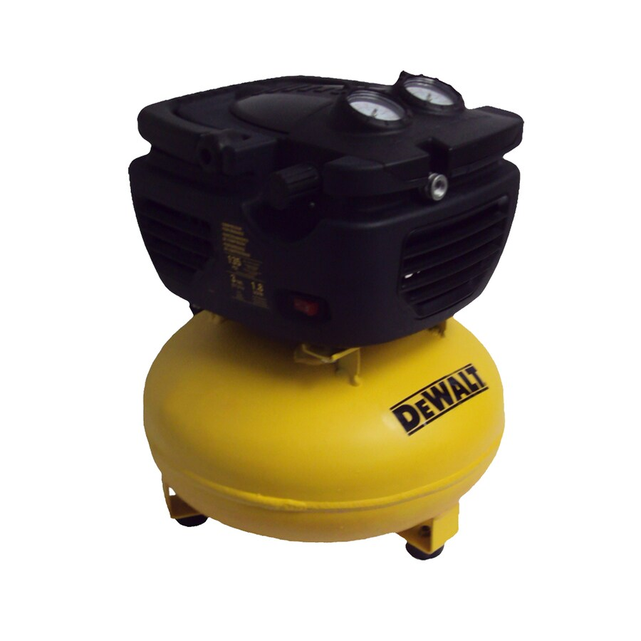 Shop Dewalt 3 Gallon Portable 135 Psi Electric Pancake Air
