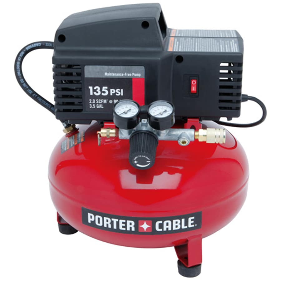 Porter Cable 4 Gallon Portable Electric Pancake Air Compressor