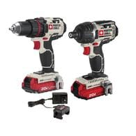Deals on PORTER-CABLE 2-Tool 20-Volt Max Lithium Ion Cordless Combo Kit
