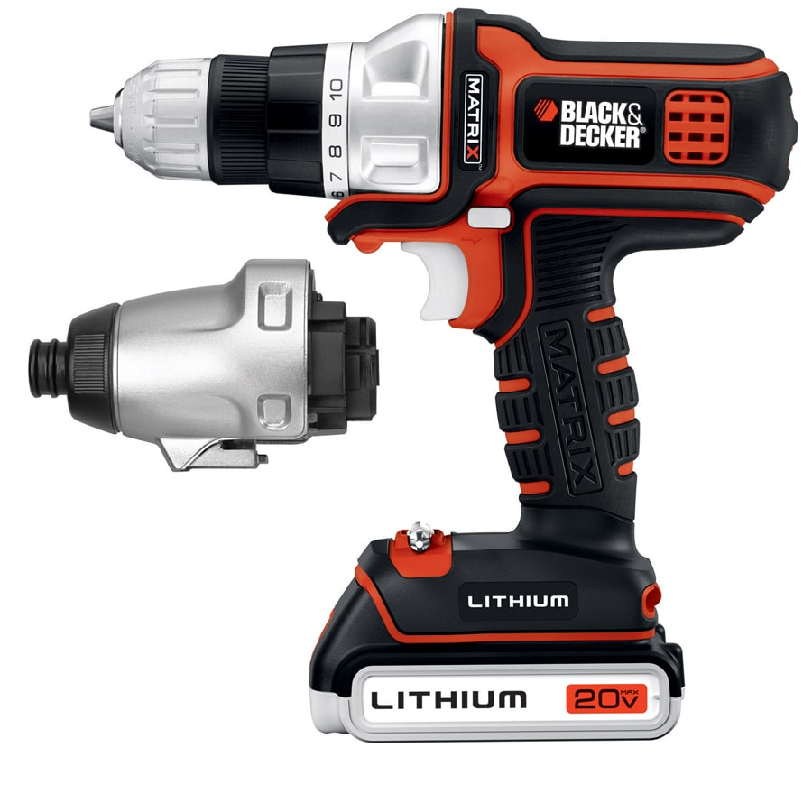 BLACK & DECKER 20-Volt 3/8-in Cordless Drill with Battery