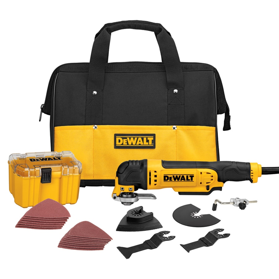 Shop Dewalt 29 Piece Corded 3 Amp Oscillating Tool Kit At