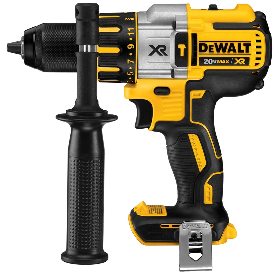 DEWALT 1/2-in 20-Volt Max-Volt Sold Separately Variable Speed Cordless Hammer Drill Bare Tool Only (Tool Only, Battery)