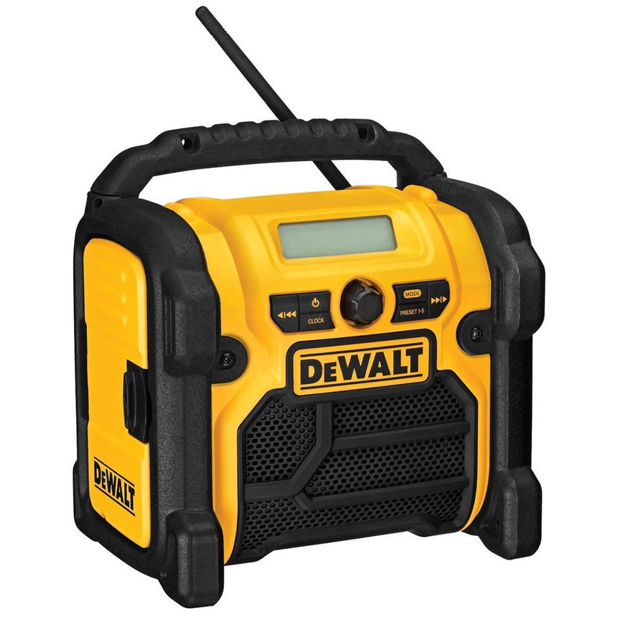 DEWALT Water Resistant Cordless Jobsite Radio