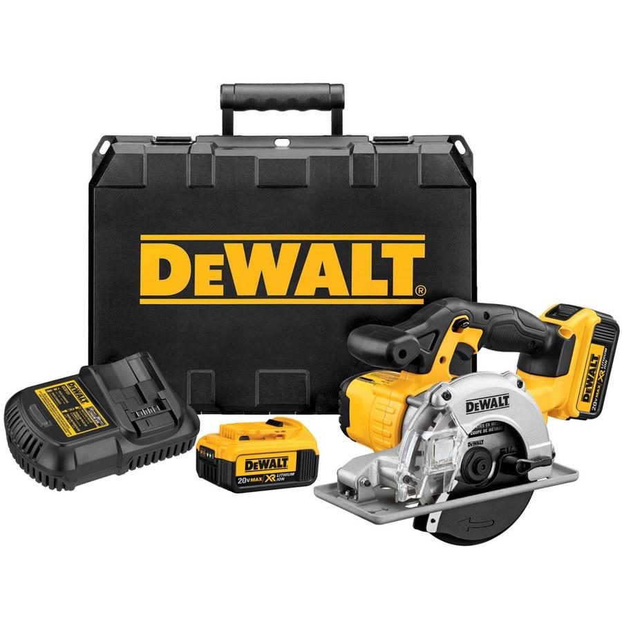 DEWALT 20-Volt 5-1/2-in Cordless Circular Saw