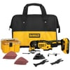 Lowes.com deals on DEWALT XR 28-Piece Cordless 20-V Oscillating Tool Kit DCS355D1