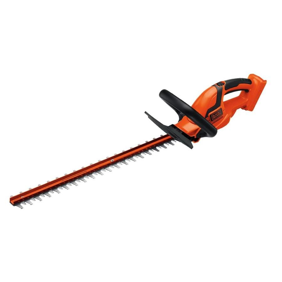 BLACK & DECKER 40-Volt Max 24-in Dual Cordless Hedge Trimmer (Battery Not Included)