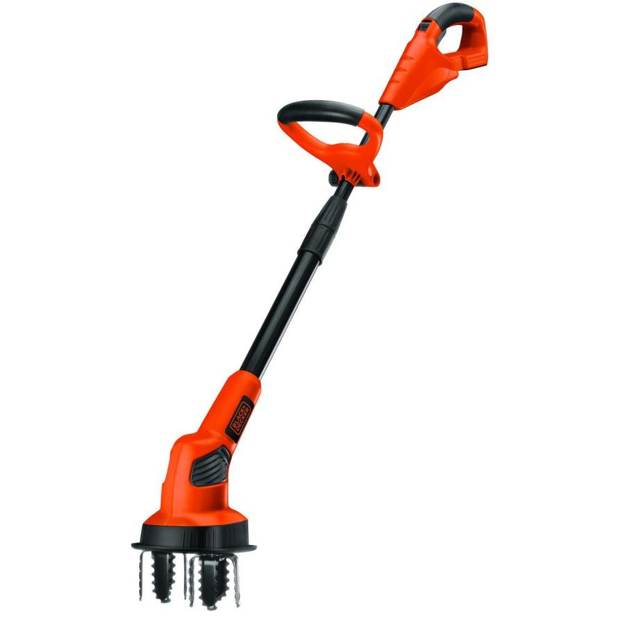 BLACK & DECKER 20-Volt Lithium Ion 7-in Cordless Electric Cultivator (Battery Not Included)