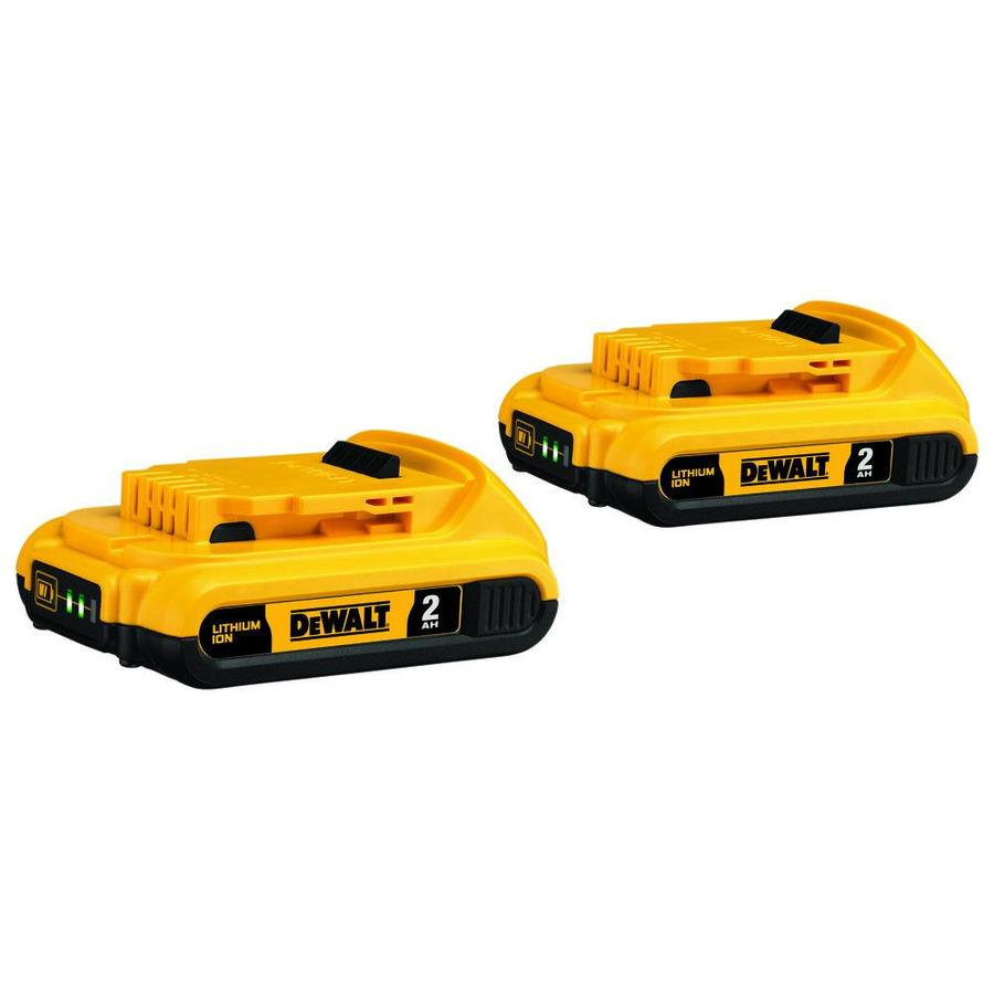 DEWALT 2-Pack 20-Volt 5.0-Amp Hours Lithium Power Tool Batteries