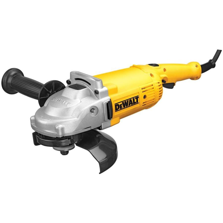 DEWALT 7-in 15-Amp Trigger Switch Corded Angle Grinder
