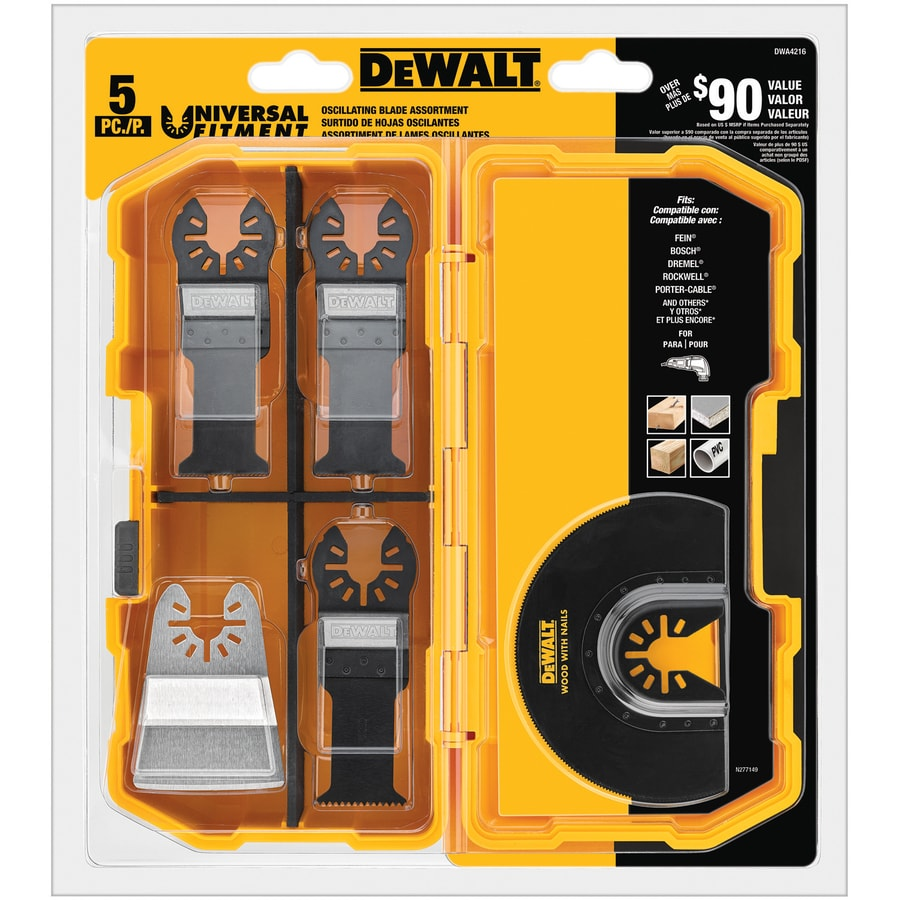 DEWALT Oscillating Set