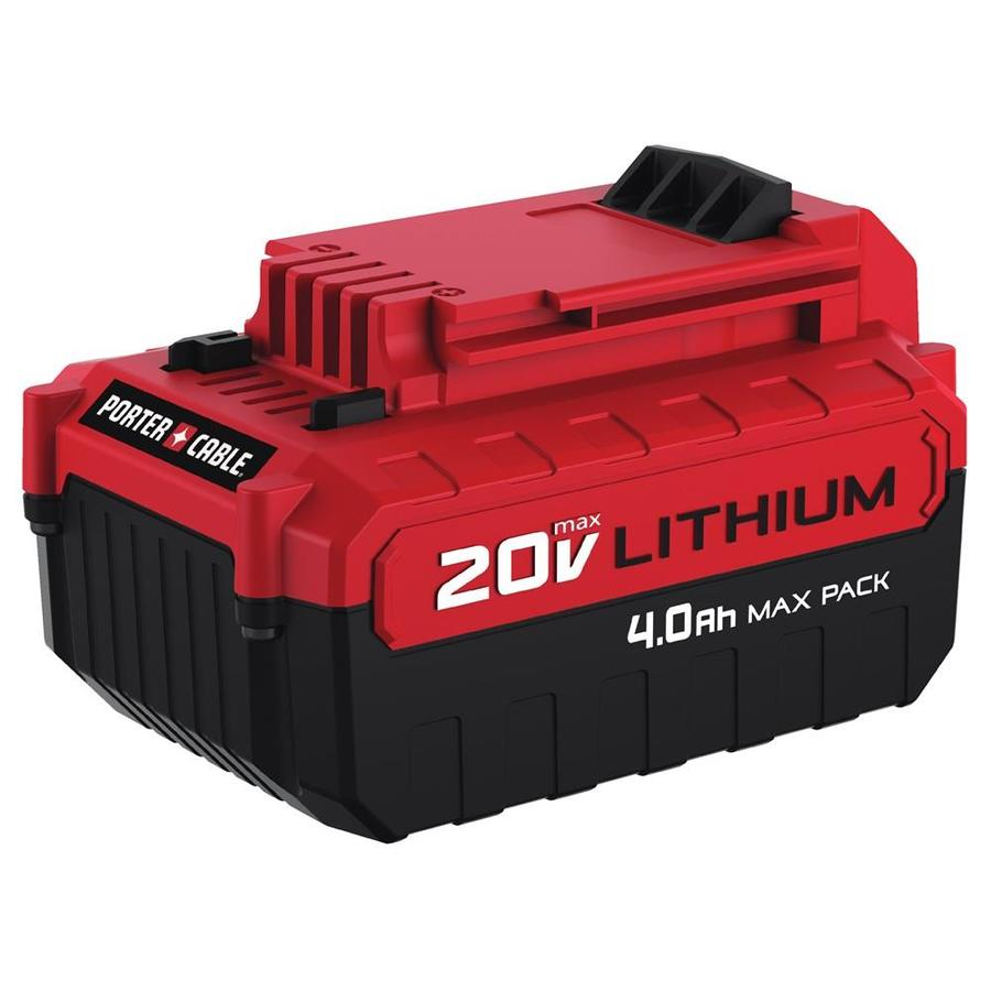 PORTER-CABLE 20-Volt Max 4-Amp-Hours Lithium Power Tool Battery