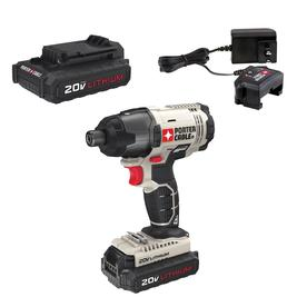 PORTER-CABLE 20-Volt Max Variable Speed Cordless Impact Driver (2-Batteries Included)