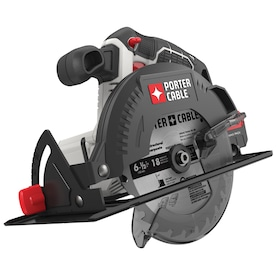 PORTER-CABLE 20-Volt Max 6-1/2-in-Amp Cordless Circular Saw with Beveling Shoe
