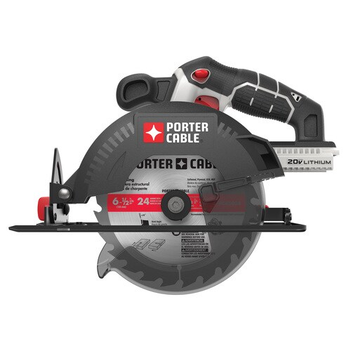 "Porter-Cable 20V 20 Volt Max PCC661 5 1//2/"" Circular Saw Lithium-Ion W//BLADE R"