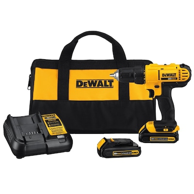 DEWALT 20-Volt Max 1/2-in Variable Speed Cordless Drill (2 -Batteries Included and Charger Included)