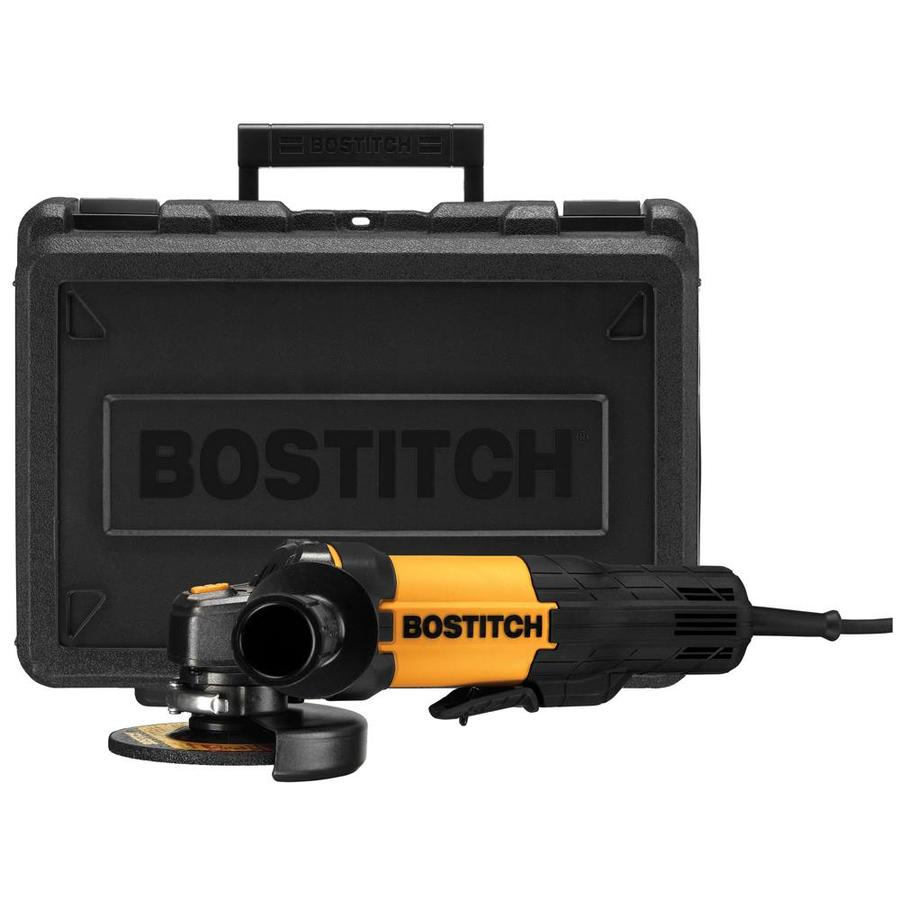 Bostitch 4-1/2-in 7-Amp Paddle Switch Corded Angle Grinder