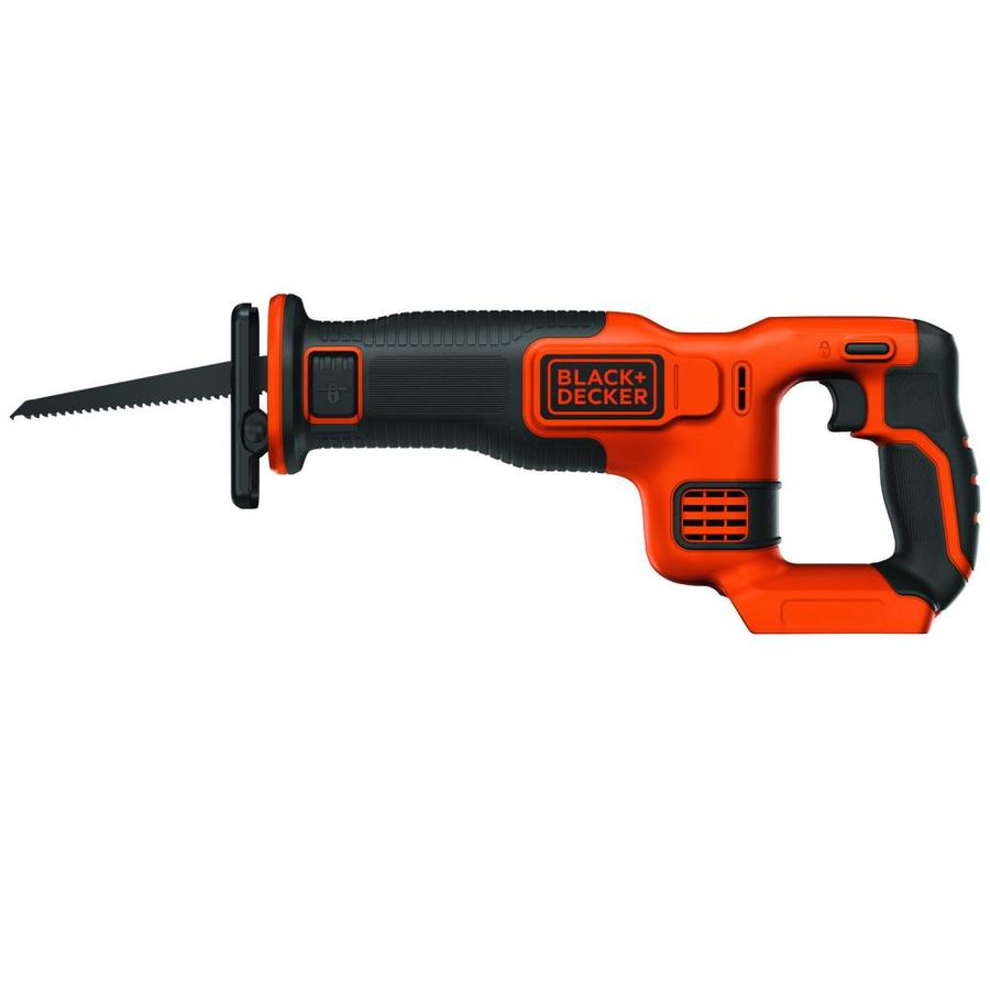 BLACK & DECKER 20-Volt Max-Volt Variable Speed Cordless Reciprocating Saw (Bare Tool)