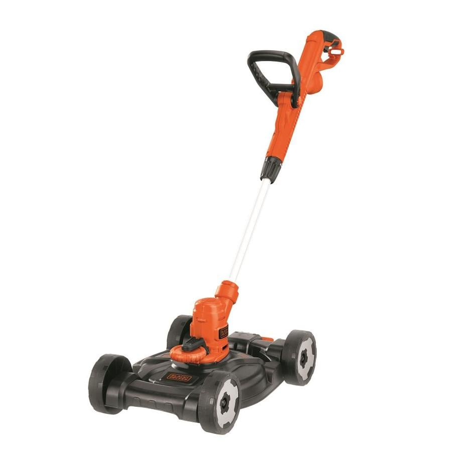 e7e5eefe3339 BLACK+DECKER 6.5-Amp 12-in Corded Electric Lawn Mower at Lowes.com