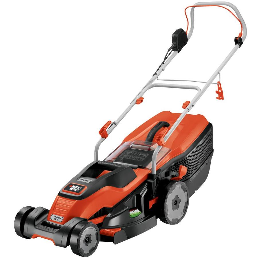 BLACK & DECKER 12-Amp 17-in Deck Width Push Corded Electric Push Lawn Mower