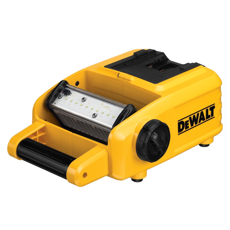 DEWALT 1500-Lumen LED Freestanding Rechargeable Battery Flashlight