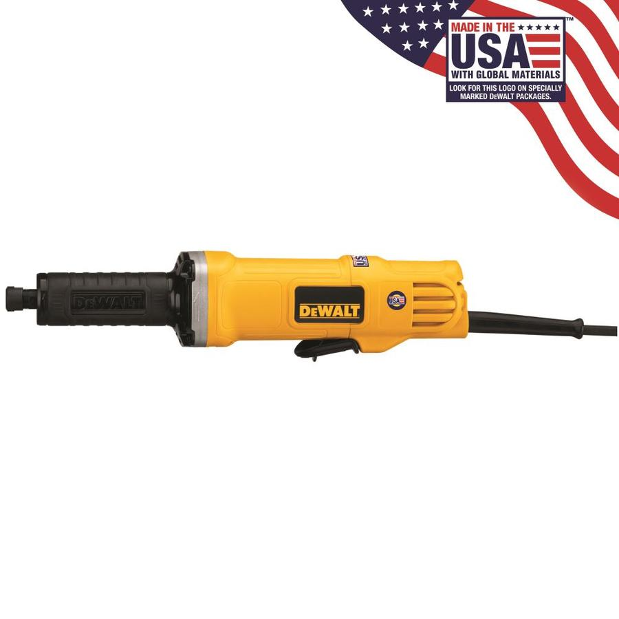 DEWALT 1-1/2-in 4.2-Amp Paddle Switch Corded Angle Grinder
