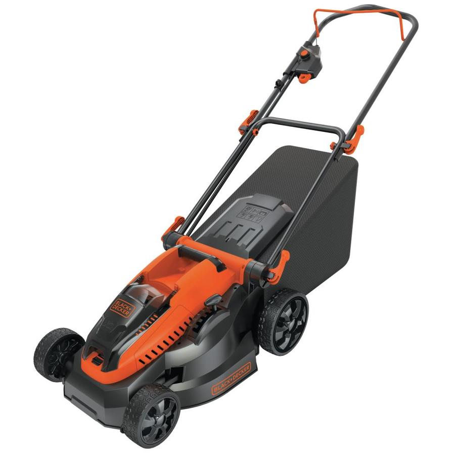BLACK & DECKER 40-volt Max Lithium Ion 16-in Deck Width Cordless Electric Lawn Mower (Batteries Included)