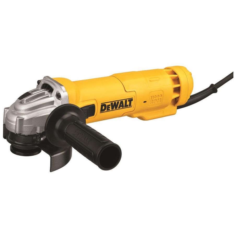DEWALT 4-1/2-in 11-Amp Sliding Switch Switch Corded Angle Grinder