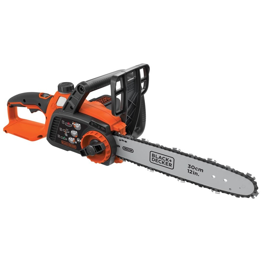 BLACK & DECKER 40-Volt Lithium Ion (Li-ion) 12-in Cordless Electric Chainsaw (Bare Tool Only)