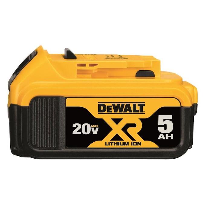 DEWALT XR 20-Volt Max 5 Amp-Hour Lithium Power Tool Battery