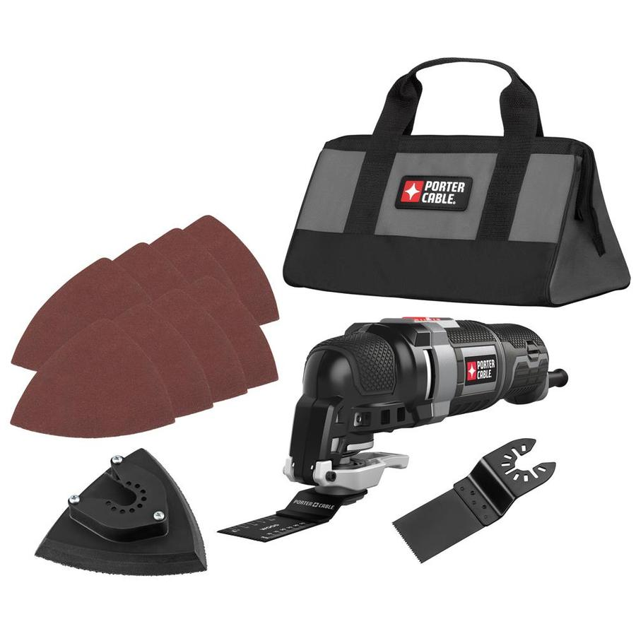 PORTER-CABLE 11-Piece Corded 3-Amp Oscillating Tool Kit