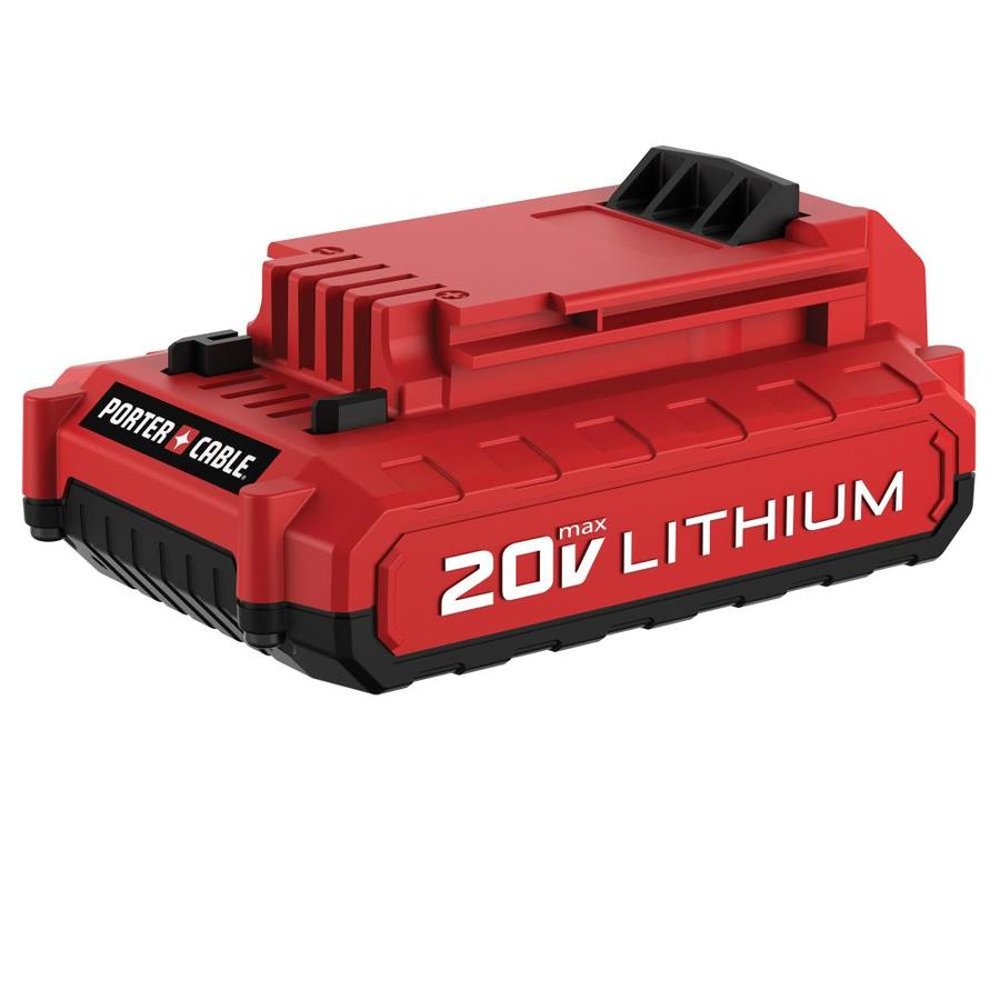 PORTER-CABLE 20-Volt 2.0-Amp Hours Lithium Power Tool Battery