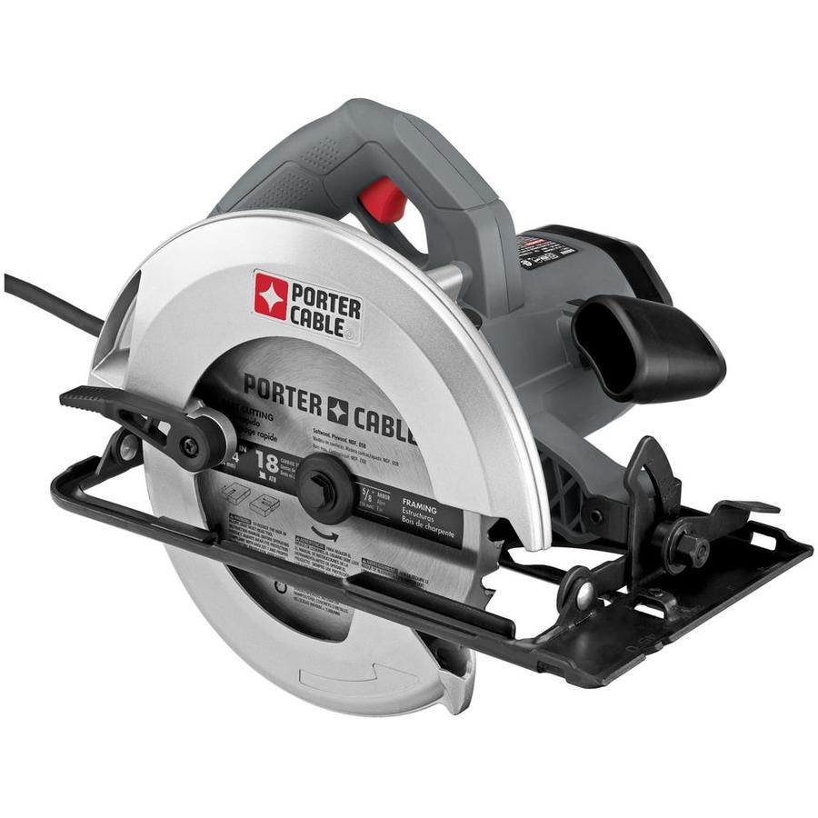 Shop porter cable 15 amp corded circular saw at lowes porter cable 15 amp corded circular saw greentooth Choice Image