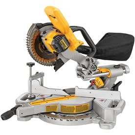 DEWALT 7-1/4-in 20-volt Max Single Bevel Sliding Compound Miter Saw