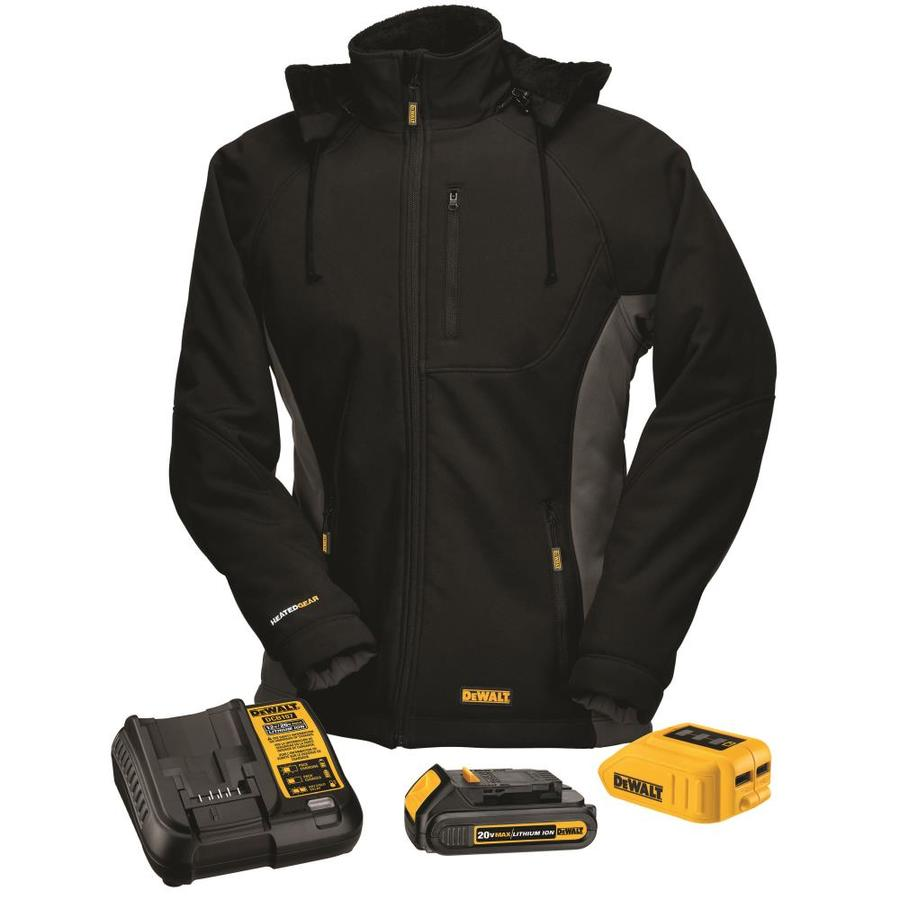DEWALT X-Small Black Lithium Ion (Li-ion) Heated Jacket