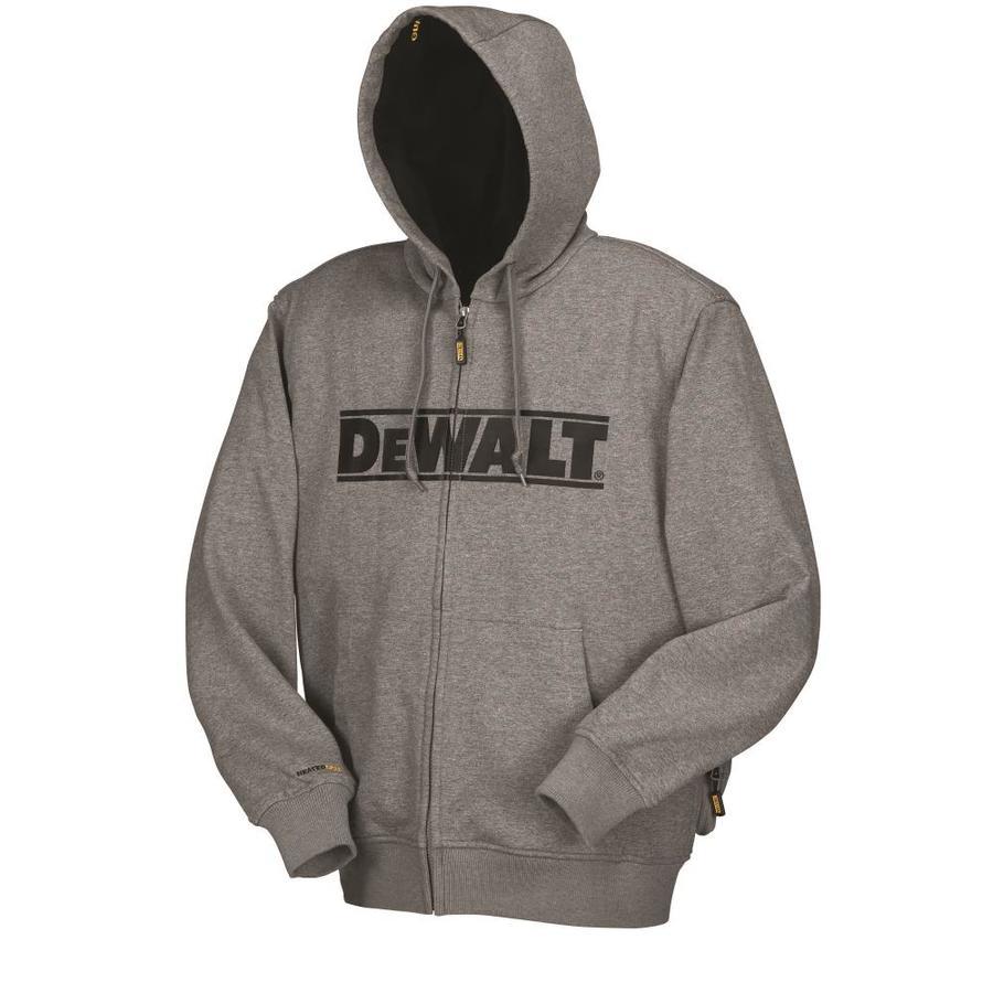 DEWALT Small Gray Lithium Ion (Li-Ion) Heated Jacket