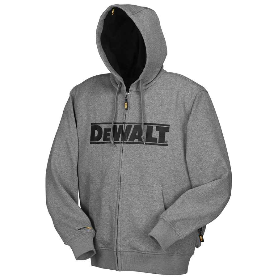 DEWALT Large Gray Lithium Ion (Li-Ion) Heated Jacket